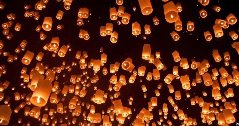 История возникновения китайских фонариков