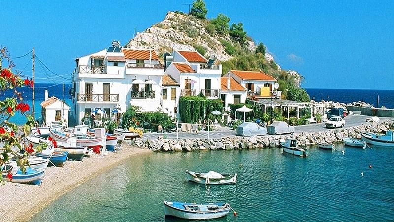 Достопримечательности острова Самос, Греция