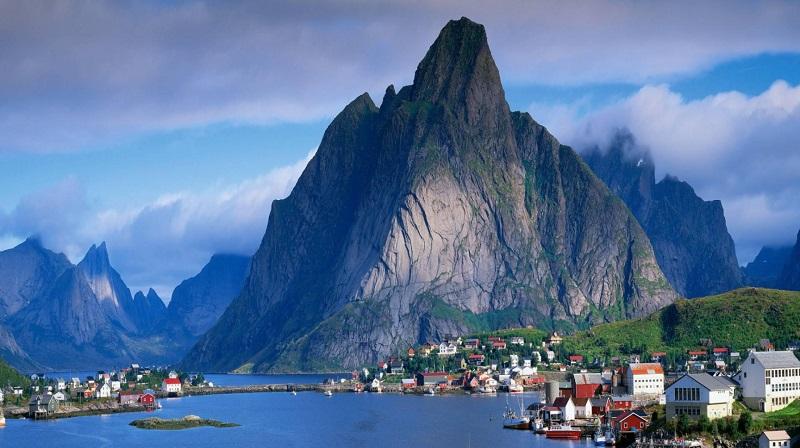 Осло-фьорд в Осло, Норвегия