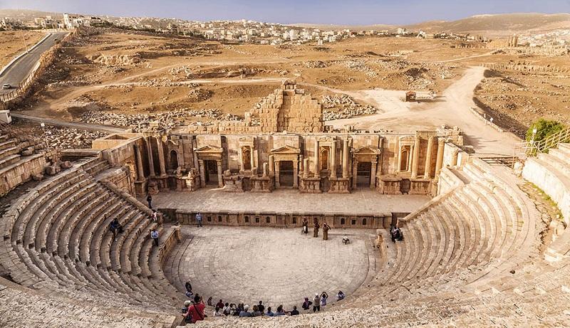 Римский амфитеатр, Амман
