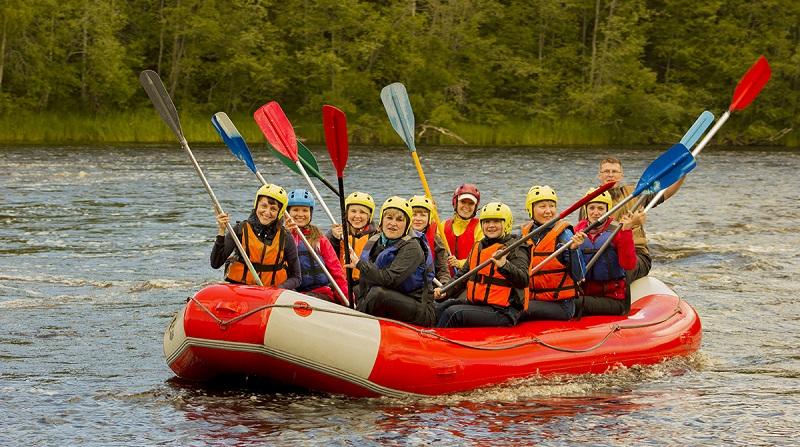 Активные виды отдыха на воде в Подмосковье