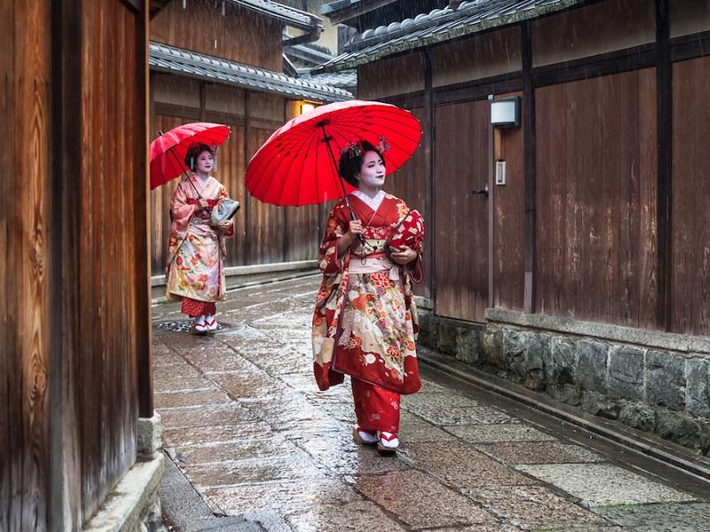 В Японии снимок гейши может обернуться штрафом