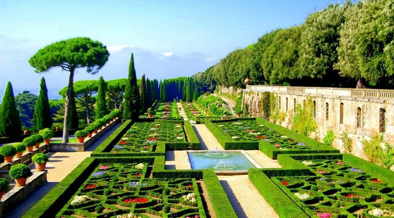 Сады Ватикана – чудо, созданное человеческими руками
