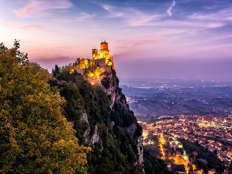 Монте-Титано — жемчужина Сан-Марино