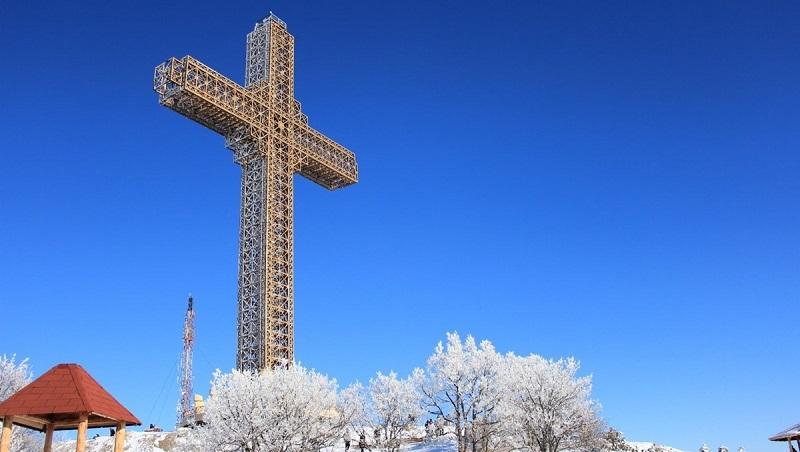 Вершина мира – Крест Тысячелетия в Македонии