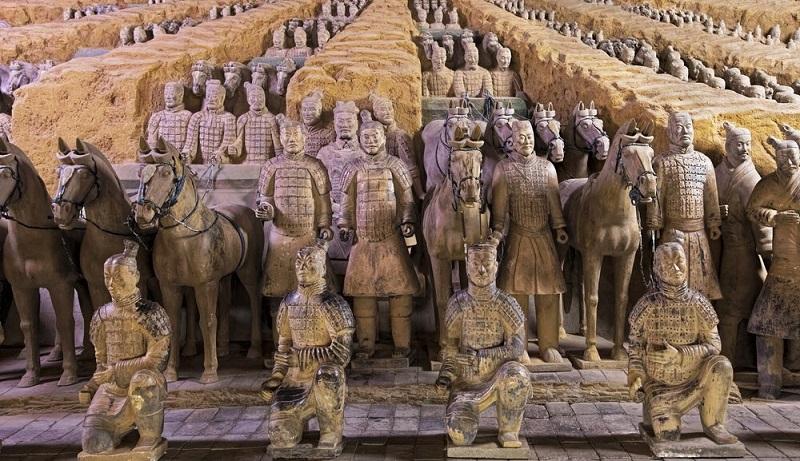 Восстала из земли – Терракотовая армия Цинь Шихуанди