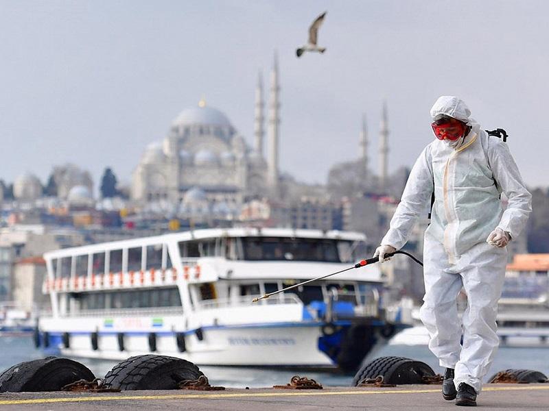 Ужесточение ограничительных мер в Турции