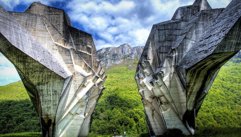 Сутьеска – национальный парк и памятник партизанам Второй мировой войны