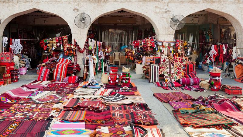 Катар: особенный колорит рынка Сук Вакиф