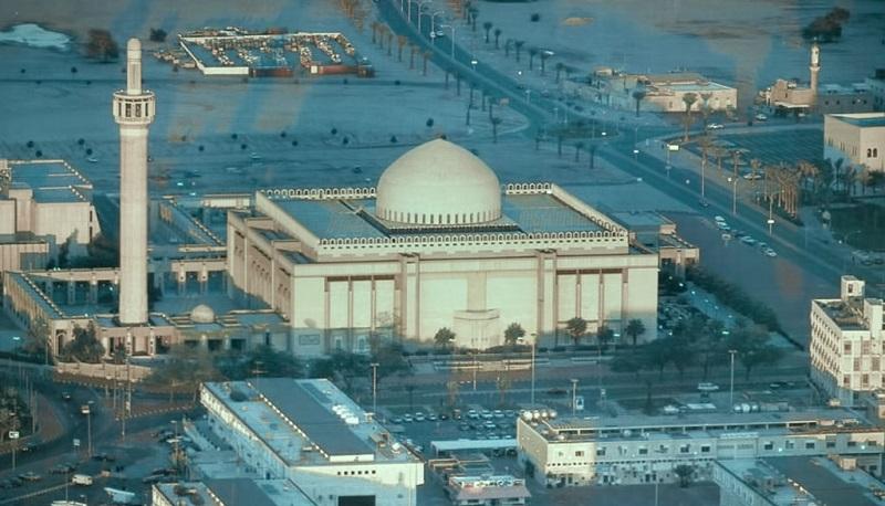 Священная мечеть Аль-Джами-аль-Кубра в Кувейте